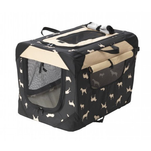 House of Paws - Dog Print Waterproof Pet Crate