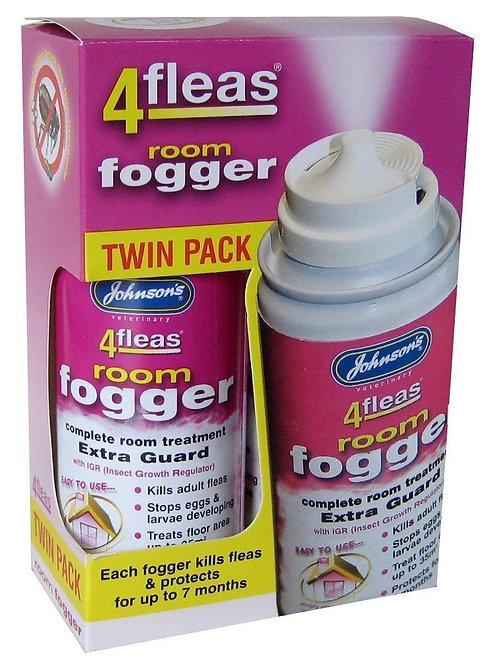 ohnsons 4fleas Room Fogger Twin Pack (IGR)