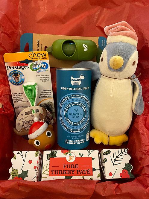 Luxury Puppy Christmas Gift Box