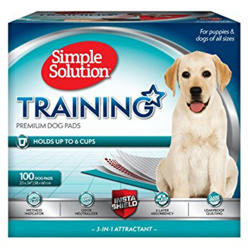 SIMPLE SOLUTION PUPPY TRAINING PADS - 100 Pads