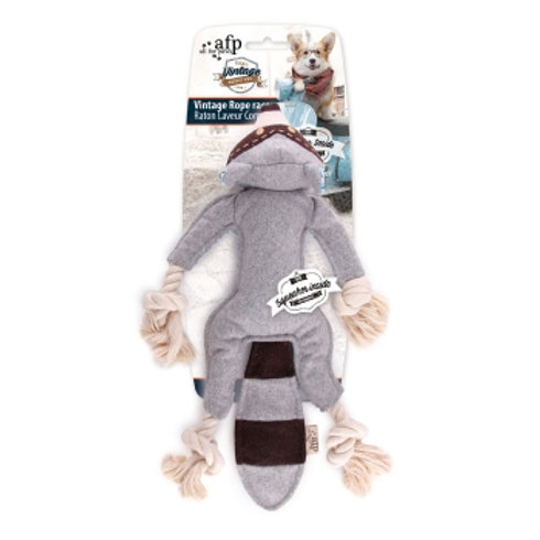 All For Paws Vintage Dog Rope Raccoon