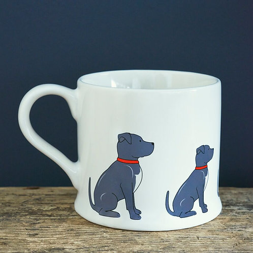 Staffie - Mischievous Mutts Mugs
