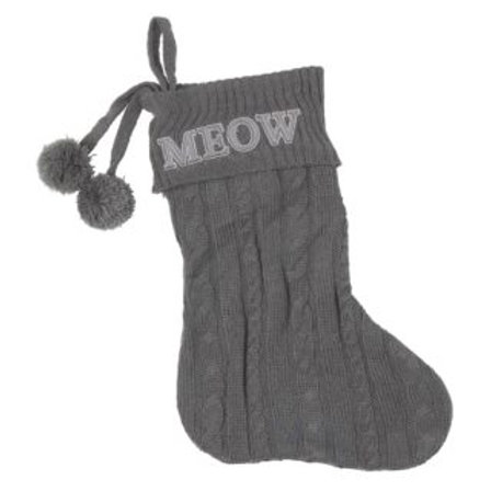 'Meow' Christmas Stocking