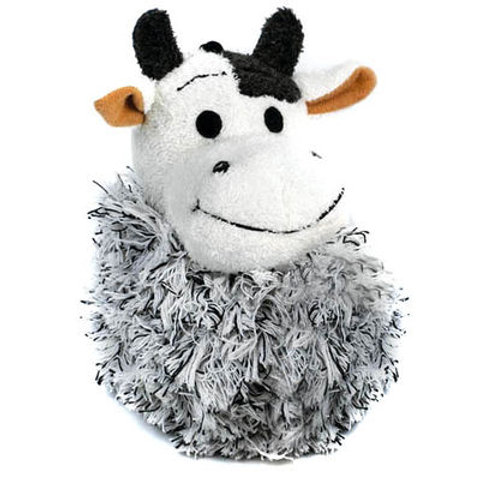 Cotton Cow Dog Toy