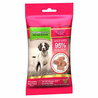 Natures Menu Real Meaty Dog Treats with Beef