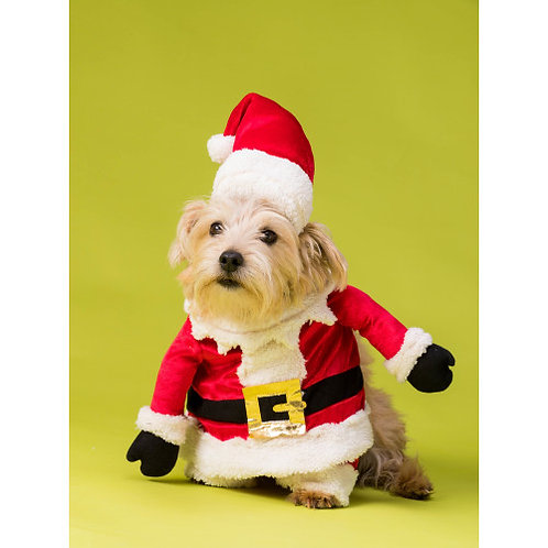 The House of Paws Christmas Santa Fancy Dress for Dogs
