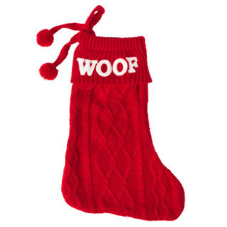 House of Paws Woof Stocking