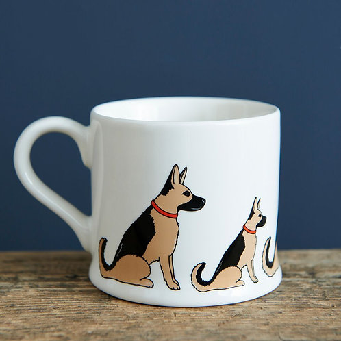 German Shepherd - Mischievous Mutts Mugs