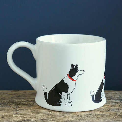 Border Collie - Mischievous Mutts Mugs