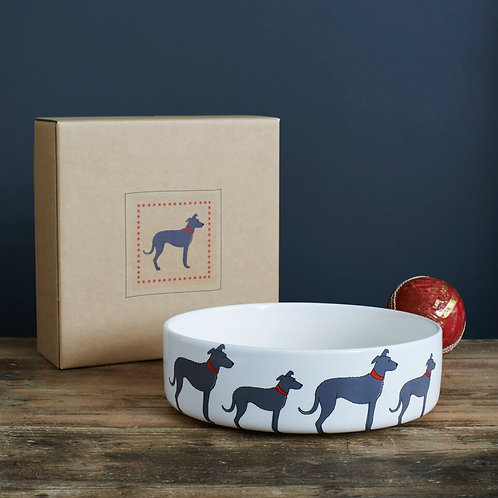 Lurcher Dog Bowl