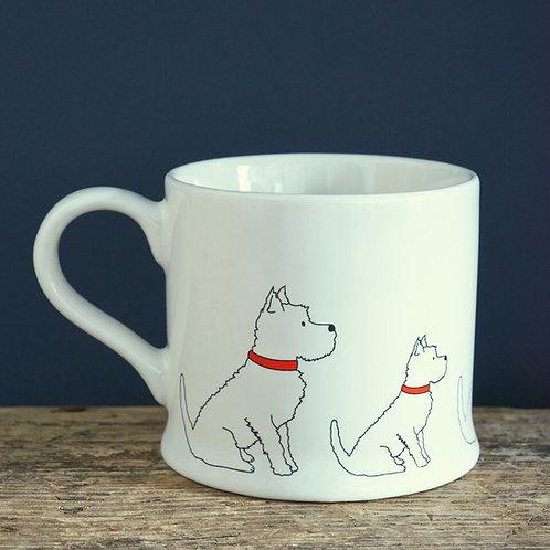 Westie - Mischievous Mutts Mugs