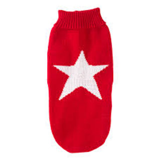 House of Paws Star Jumper in Grey or Red