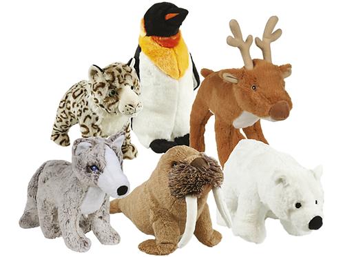 Snowmates plush dog toy