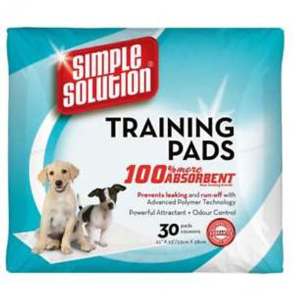SIMPLE SOLUTION PUPPY TRAINING PADS - 30 Pads