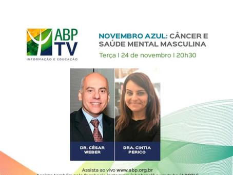 ABPTV - Novembro Azul: câncer e saúde mental