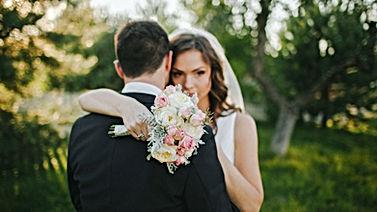 Hochzeit Umarmung