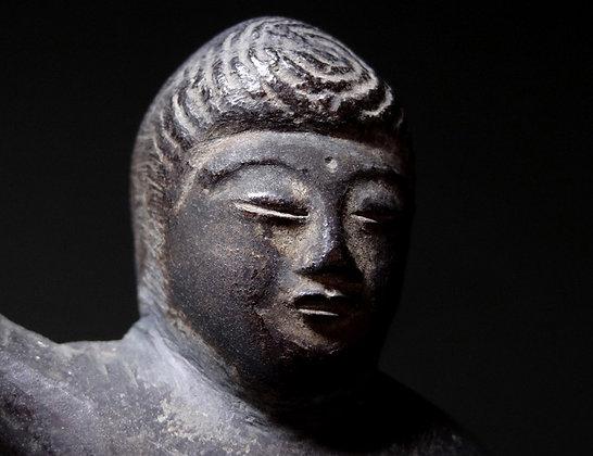 muromachi bronze buddha
