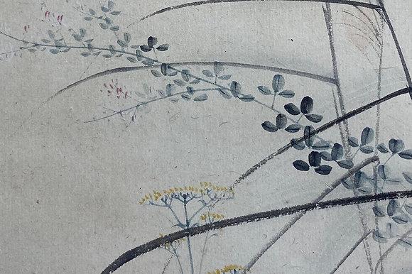 otagaki rengetsu poem painting view-9