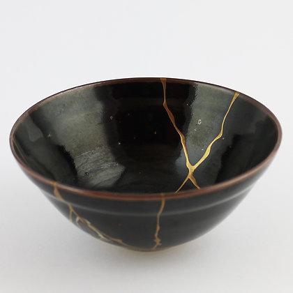 yamamoto gempo ceramic kintsugi teabowl zen