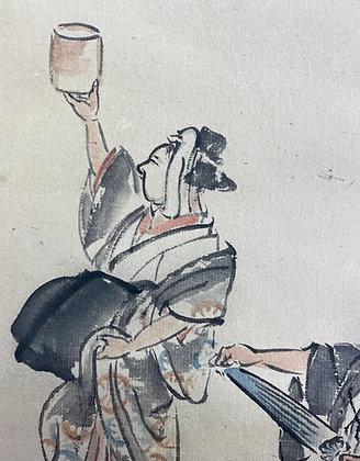 otagaki rengetsu poem baiun painting view-5
