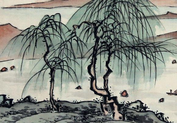 fukuda kodojin landscape painting