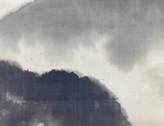 chigusa soun hihonga painting scroll landscape view-1