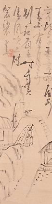sengai gibon zenga zen poem painting