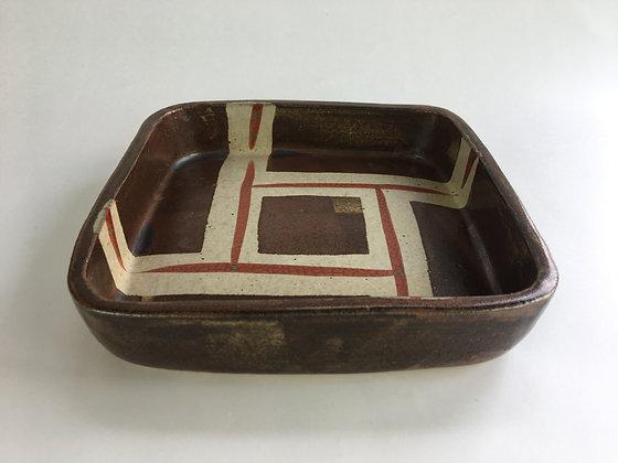hamada shoji stoneware dish original tomobako box