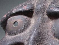 muromachi obeshimi bronze mask