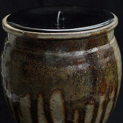 tamba ceramic ware mizusashi water container