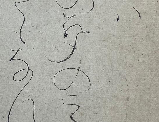 otagaki rengetsu poem scoll