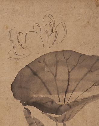 otagaki rengetsu poem painting