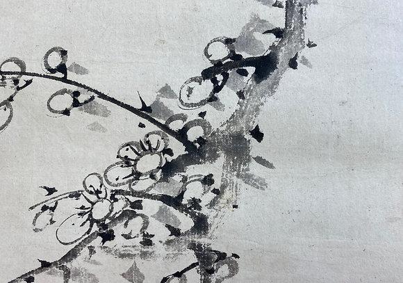 otagaki rengetsu poem painting scroll view-2