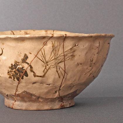otagaki rengetsu tea bowl chawan large