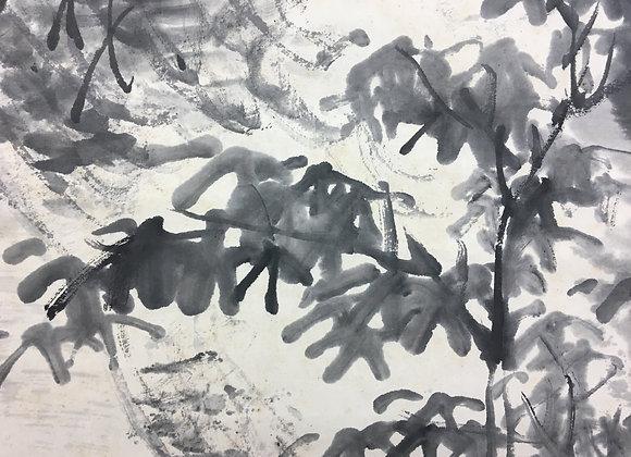 kinoshita Itsuun landscape painting