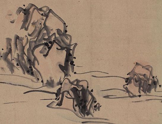 yosa buson maruyama okyo painting calligraphy