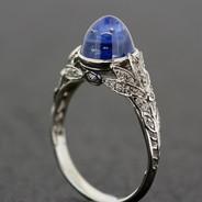 Belle Epoque Sapphire Ring
