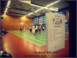 BASKETBALL SKILLS CLINIC
