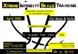 Basketball Training for advanced pla