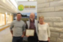CBS Solar 2016 Top Solar Contractor Award