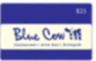 blue cow gift card