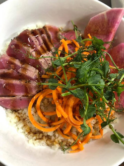 Seared Tuna Bowl
