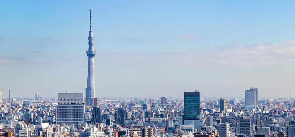 東京都の街並み