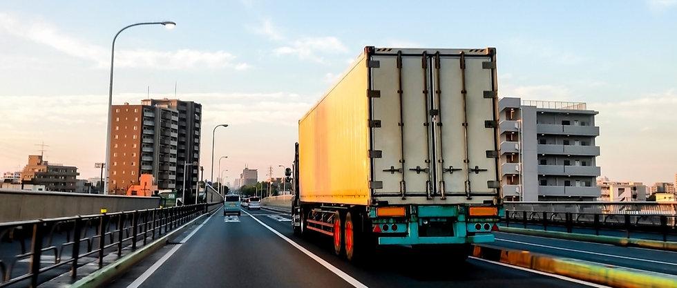 走行中のトラック