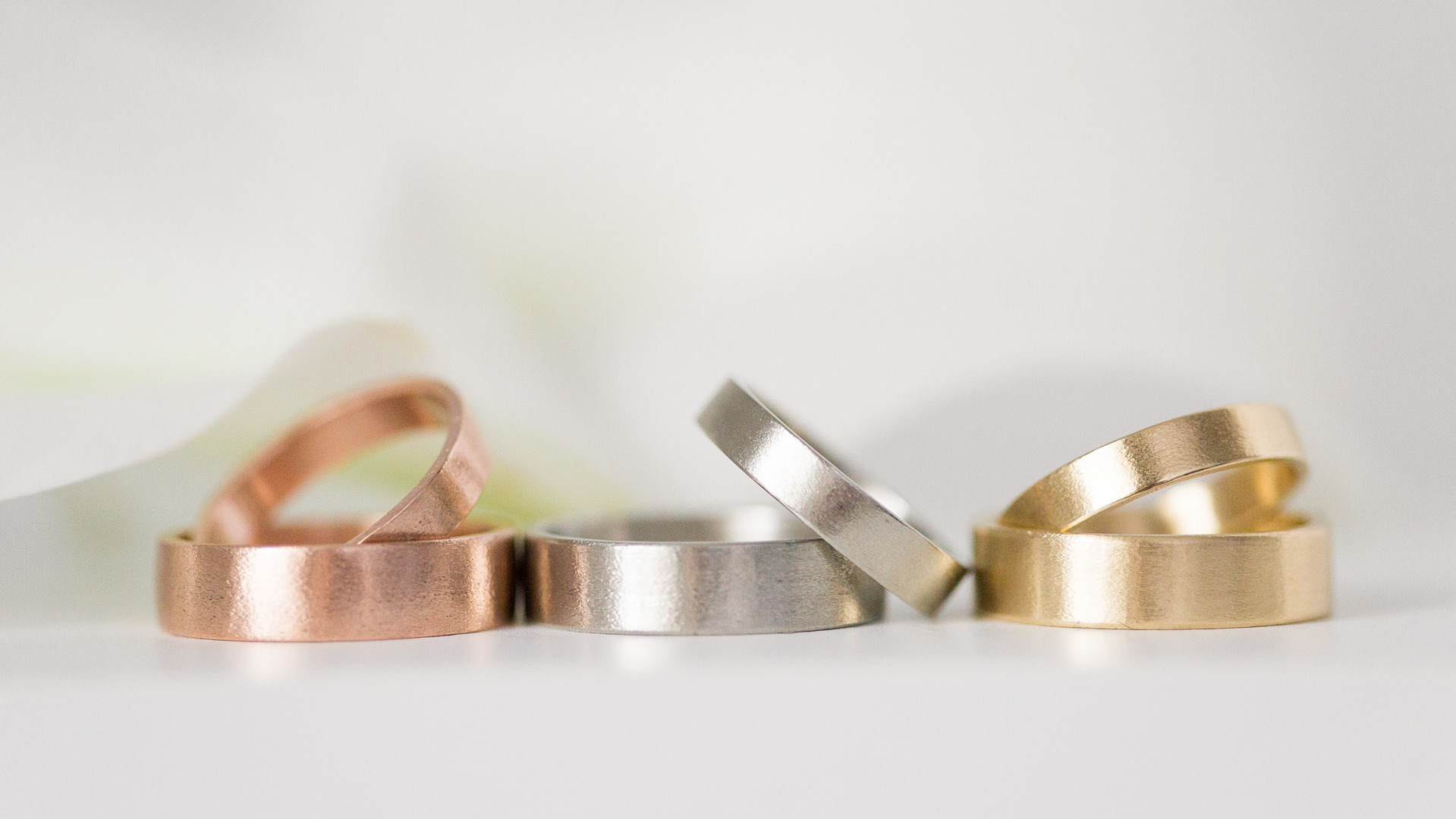 Etched Band Sets