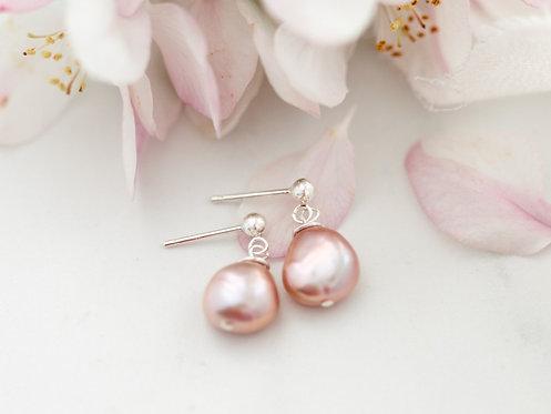 Sweetheart Earrings |  Sterling Silver