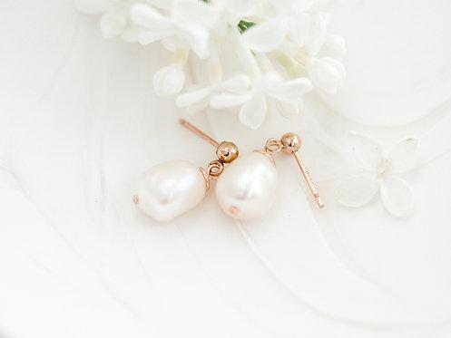 Sweetheart Earrings |  Gold-Filled
