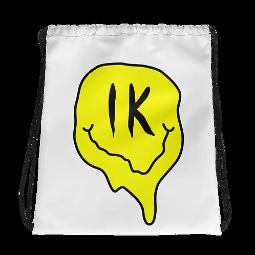 Smiley Drawstring bag