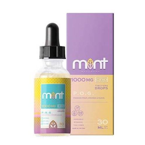 Mint Wellness - CBD Tinture - POG - 500mg-1500mg