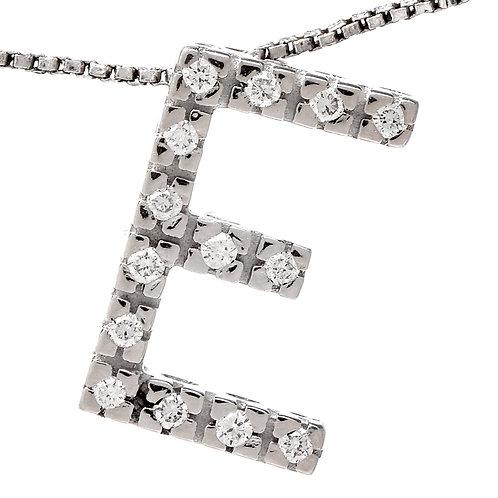 Large Diamond Letter Pendant